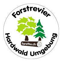 Logo Forstrevier Hardwald Umgebung, Waldverein Bassersdorf Nürensdorf, Wald