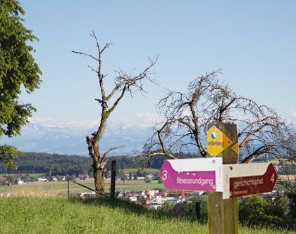 Spazier- und Wanderwege Bassersdorf, Halbmarathon, Fitnessrundgang, Laufweg, Dorfrundgang